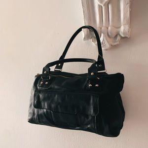 Large black Kate Spade hand bag